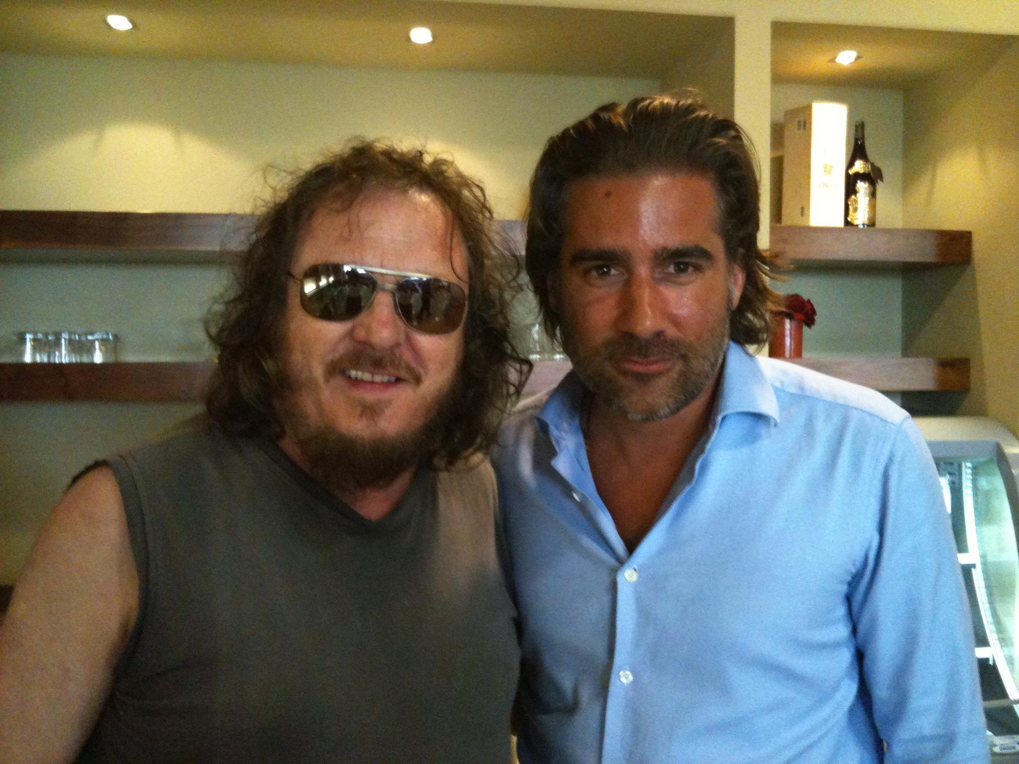 Il patron della Perin Generators incontra il cantante Zucchero