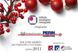 Perin sostiene la lotta contro il cancro