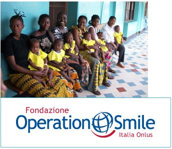 """Sostegno alla fondazione """"Operation Smile"""""""