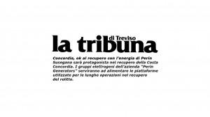 La Tribuna parla dei generatori Perin Generators per il recupero della Costa Concordia