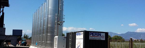 Energia PERINGENERATORS per una famosa cantina del Friuli