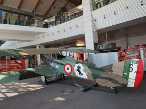 Esposto lo SPAD S. XIII, nuovo successo per Perin