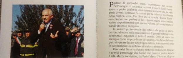 """Il patron Perin Diotisalvi nel libro """"Razza Piave"""""""