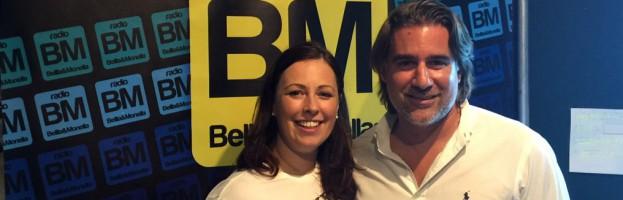 Live interview on Radio Bellla & Monella by Monica Morgan to David Perin