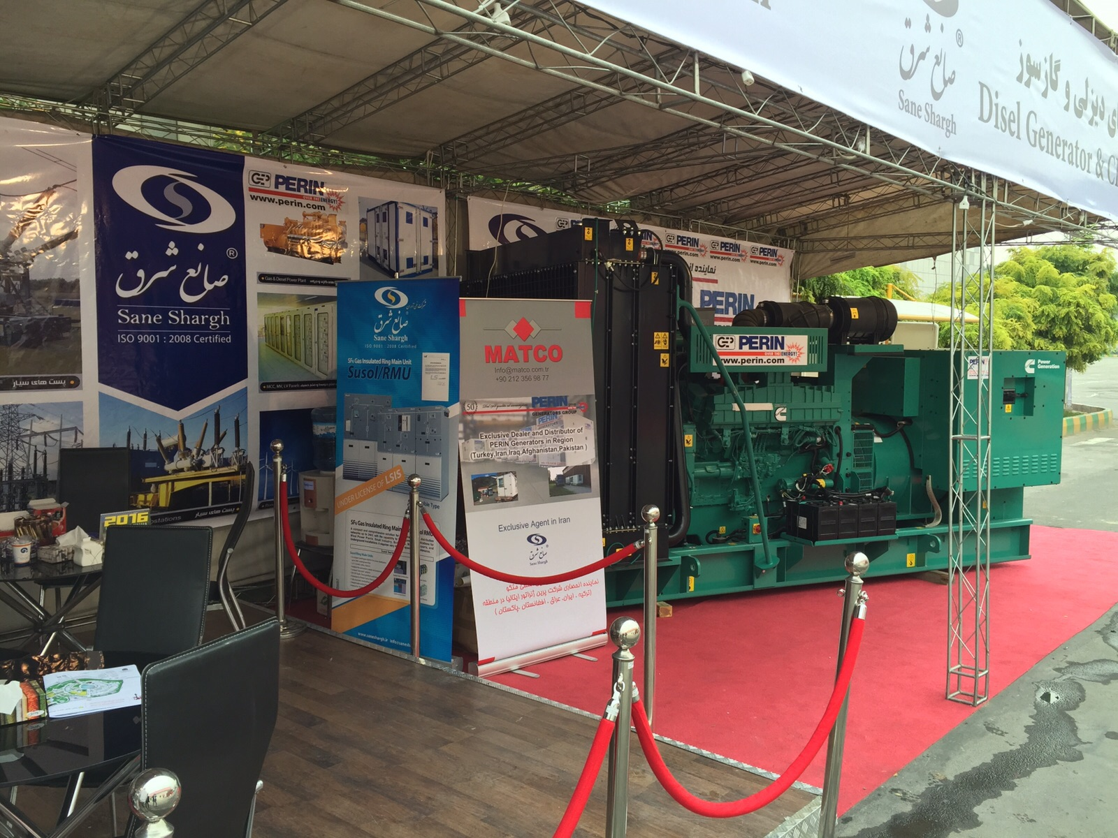 Exhibition Stand Trends 2018 : Peringenerators group at iee international electricity