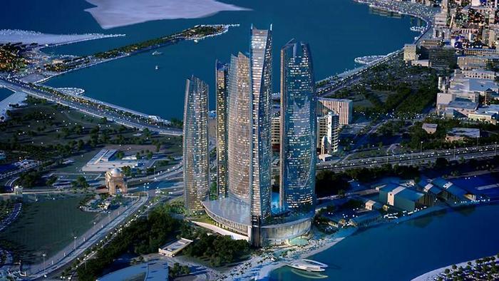 Jumeirah At Etihad Towers Hotel Abu Dhabi