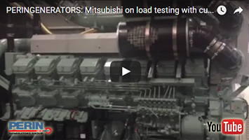 PERINGENERATORS video: test di carico dei motori Mitsubishi!