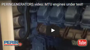 PERINGENERATORS video: test di prova per i motori MTU!