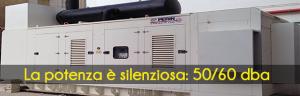 Con PERINGENERATORS la potenza è silenziosa: 50/60 dba!