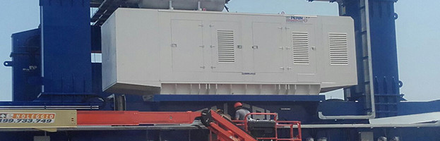 New power plant deliveries of PERINGENERATORS