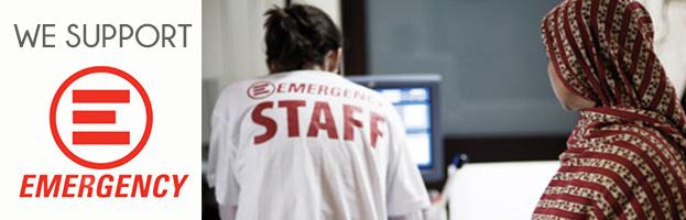 PERINGENERATORS sostiene l'associazione benefica EMERGENCY