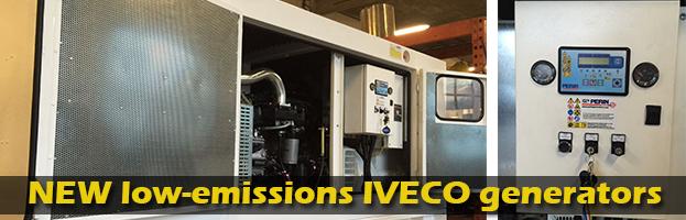 PERINGENERATORS: nuovi generatori IVECO a basse emissioni