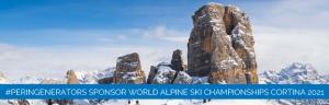 PERINGENERATORS: sponsor dei Campionati Mondiali di Cortina 2021