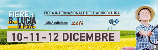 10-11-12 Dicembre: Peringenerators parteciperà alla Fiera Internazionale dell'Agricoltura (Santa Lucia di Piave, Italia)