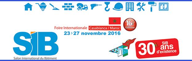 23-27 novembre: PERINGENERATORS parteciperà alla fiera SIB 2016 (Casablanca, Marocco)