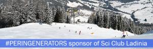 PERINGENERATORS sponsor della squadra Sci Club Ladina Alta Badia