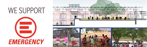 PERINGENERATORS supports EMERGENCY in Uganda for the Pediatric Hospital designed by the archistar Renzo Piano