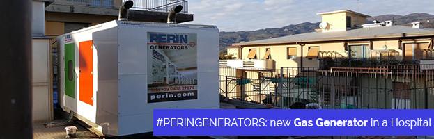 PERINGENERATORS: installazione nuovo Generatore a gas presso un ospedale
