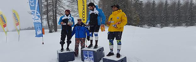 PERINGENERATORS with Cortina Ski Club at FIS Special Slalom
