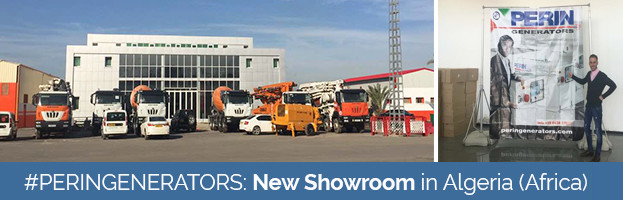 New PERINGENERATORS Showroom in Algeria (Africa)