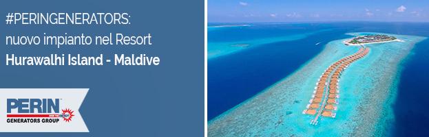 PERINGENERATORS: nuovo impianto nel bellissimo Hurawalhi Island Resort (Maldive)