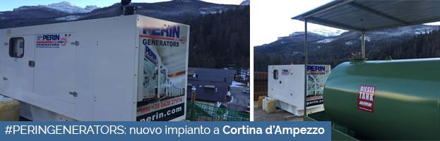 PERINGENERATORS: nuovo impianto a Cortina d'Ampezzo (Belluno)