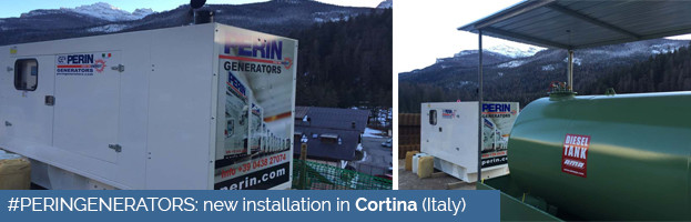 PERINGENERATORS: new power generator in Cortina (Italy)