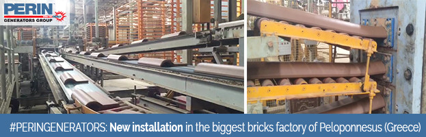 PERINGENERATORS: New installation in the biggest bricks factory of Peloponnesus (Greece)
