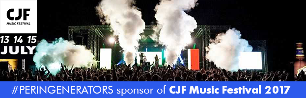 PERINGENERATORS official sponsor of CJF Music Festival 2017 (Codognè – Italy)