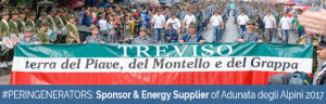 12-14 May 2017: PERINGENERATORS energy supplier of 90th Adunata Nazionale degli Alpini (Treviso – Italy)