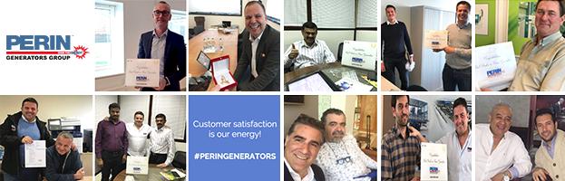 La soddisfazione del cliente è la nostra energia!