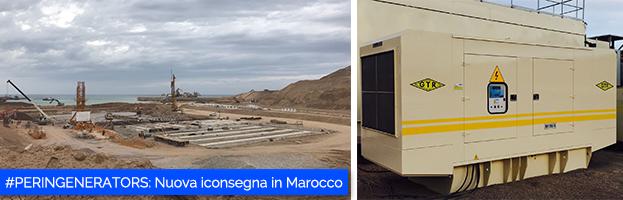 Nuova importante installazione per PERINGENERATORS in Marocco