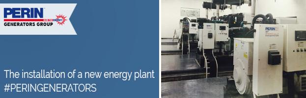 PERINGENERATORS: new energy plant and installation