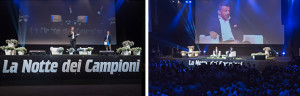 "Charity Conference ""La Notte dei Campioni"": a great success with the energy of PERINGENERATORS!"