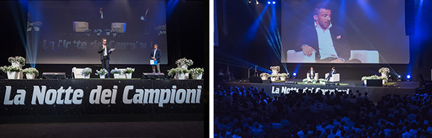 """Charity Conference """"La Notte dei Campioni"""": a great success with the energy of PERINGENERATORS!"""