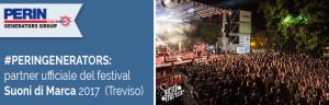 PERINGENERATORS partner ufficiale del festival Suoni di Marca 2017 (Treviso)
