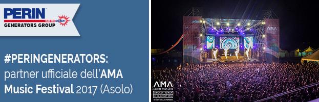 PERINGENERATORS partner ufficiale dell'AMA Music Festival 2017 (Asolo – Treviso)
