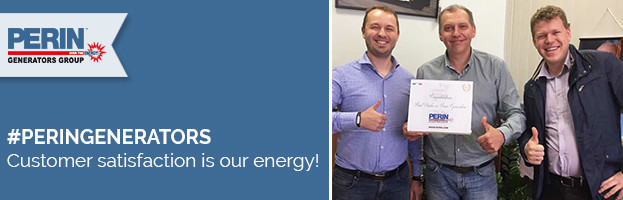 PERINGENERATORS: customer satisfaction is our energy!