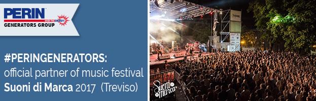 PERINGENERATORS official partner of festival Suoni di Marca 2017 (Treviso – Italy)