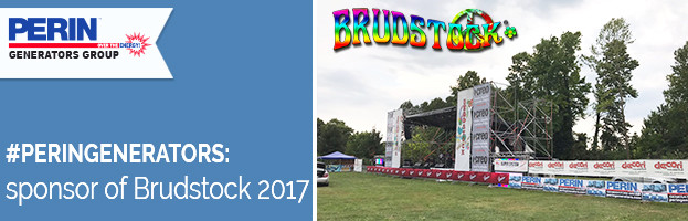 PERINGENERATORS official sponsor of BRUDSTOCK 2017 (Fontanfredda – Italy)