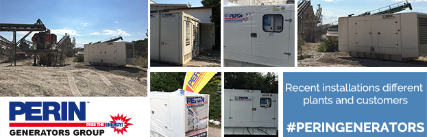 PERINGENERATORS: recent installations different customers and current generators