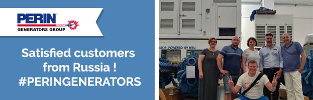 PERINGENERATORS: satisfied customers from Russia!