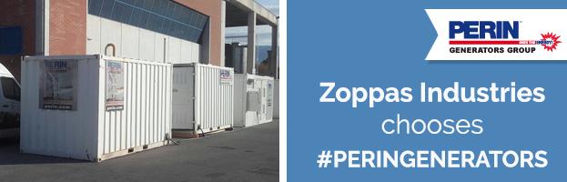 Zoppas Industries chooses PERINGENERATORS