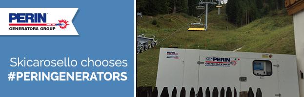 Cableway sector: Skicarosello chooses PERINGENERATORS