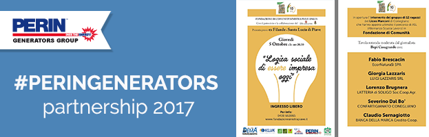 "October 05th: PERINGENERATORS partner of meeting ""Logica sociale di essere impresa oggi"""