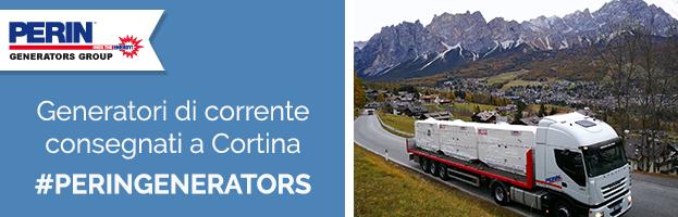 PERINGENERATORS: nuovi generatori di corrente consegnati a Cortina d'Ampezzo