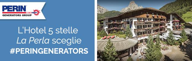 L'Hotel a 5 stelle La Perla sceglie PERINGENERATORS