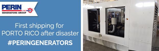 PERINGENERATORS saves the energy emergency in Porto Rico after disaster!
