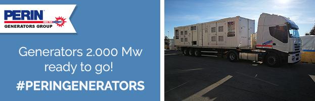 PERINGENERATORS: generators 2.000 Mw ready to go!