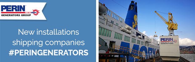 PERINGENERATORS: New installations shipping companies